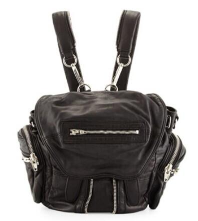 Up to $100 Off Alexander Wang Marti Mini Zip-Trimmed Leather Backpack @ Neiman Marcus