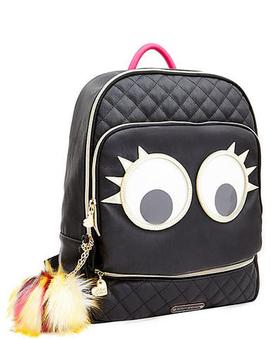 $78.58 Betsey Johnson Googly Moogly BJ49910 Fashion Backpack
