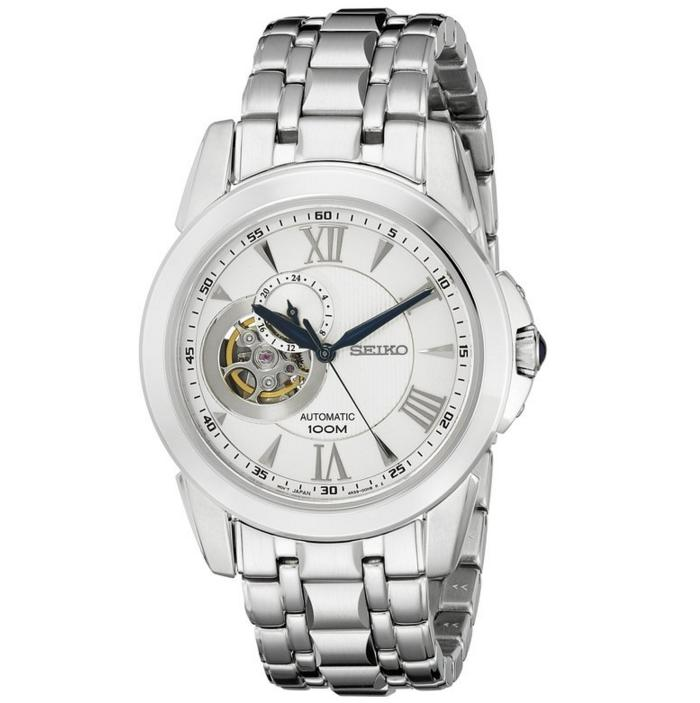 Lowest price! Seiko Men's SSA241 Automatic Stainless Steel Bracelet Watch