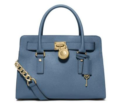 Michael Kors Hamilton Saffiano Leather Medium Satchel (Dealmoon Singles Day Exclusive)