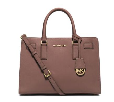 Michael Kors Dillon Saffiano Leather Satchel (Dealmoon Singles Day Exclusive)