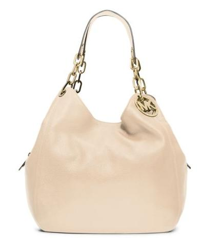 Michael Kors Fulton Large Leather Shoulder Bag (Dealmoon Singles Day Exclusive)