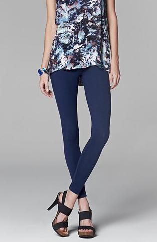 2 for $23.8 Simply Vera Vera Wang Solid Leggings @ Kohl's