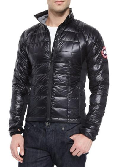 Canada Goose Hybridge Lite Jacket Black On Sale @ Neiman Marcus