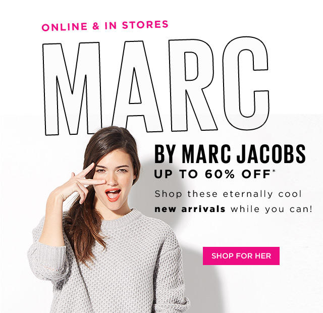 Up to 60% Off MARC BY MARC JACOBS New Arrivals @  Saks Off 5th