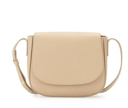 Mansur Gavriel  Calf Leather Crossbody Bag @ Bergdorf Goodman
