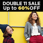 Up to 60% Off, All items 20% Off + Offer cash vouchers 11.11 Events @ wannabkKorean