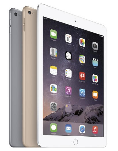 Up to $125 Off iPad Air 2 @ Best Buy