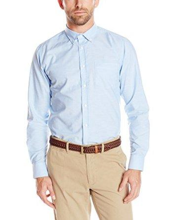Lightning Deal IZOD Uniform Men's Long-Sleeve Oxford Shirt