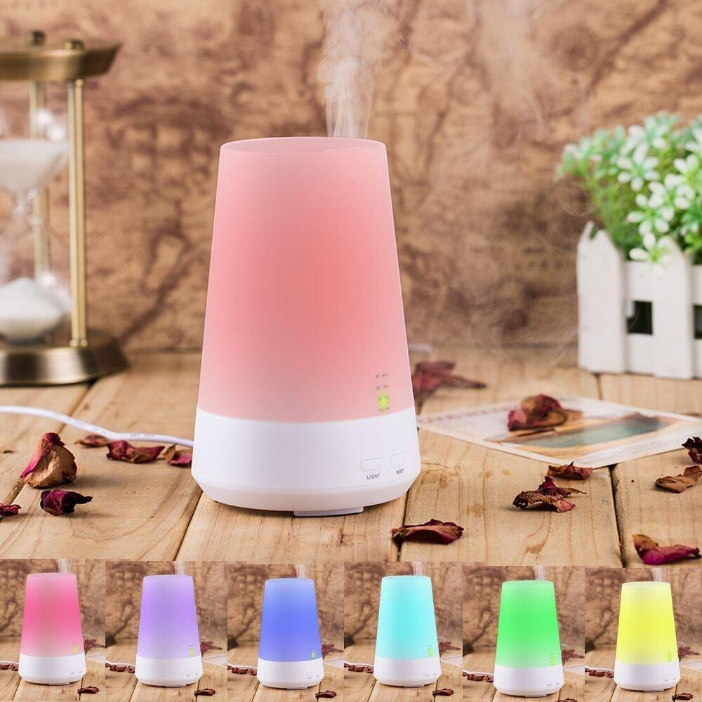 $18.99 100Ml Ultrasonic Diffuser Essential Oil Diffuser with Color Changing Led
