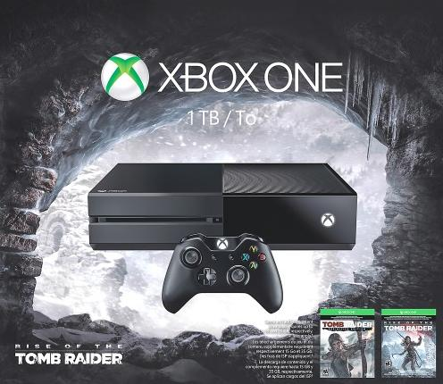$349.99 Microsoft Xbox One Rise of the Tomb Raider Bundle +FREE Controller