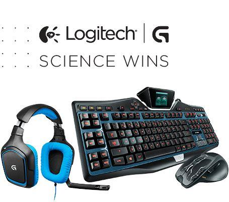 Save 50% Logitech G-Series Mice & Keyboards
