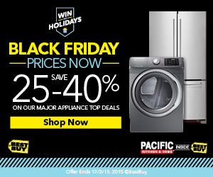 Up to 40% Off Holiday Appliance Sale