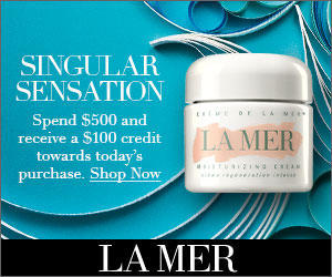 Dealmoon Singles Day Exclusive! $100 OFF with Any $500 purchase + 2 Samples @ LA MER