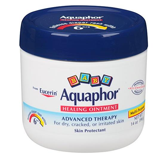$9.56 Aquaphor Baby Healing Ointment, Diaper Rash and Dry Skin Protectant, 14 Ounce