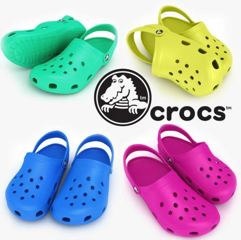 40% Off When Buy Two or More Pairs of Shoes @ Crocs