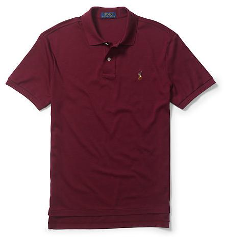 Ralph Lauren PIMA SOFT-TOUCH POLO SHIRT