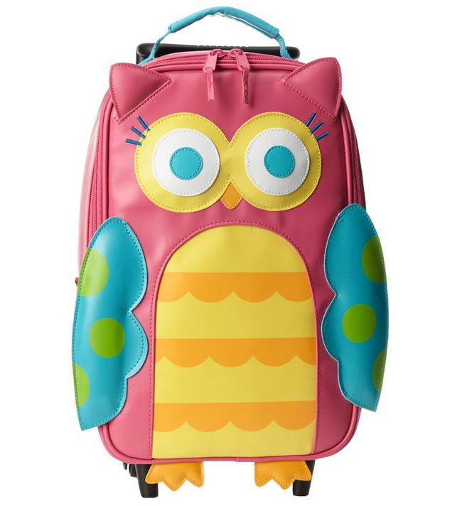Stephen Joseph Little Girls' Rolling Backpack