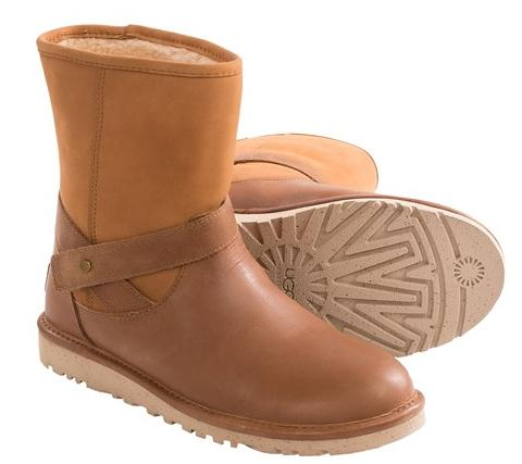 UGG® Australia Anali Boots - Leather and Nubuck @ Sirra Trading Post
