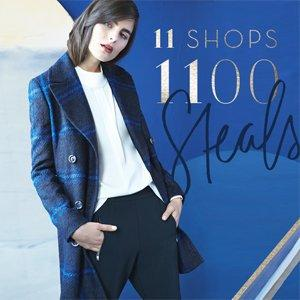 The 11/11 Sale Up to 83% Off Mackage, DVF, Cole Haan & More Women's Apparel On Sale @ Rue La La