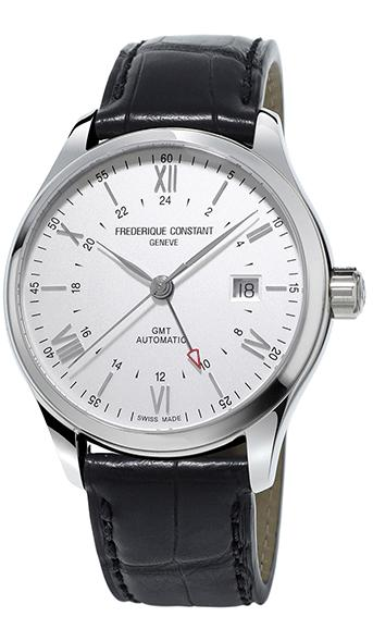 Frederique Constant Classics Index GMT Men's Watch FC-350S5B6