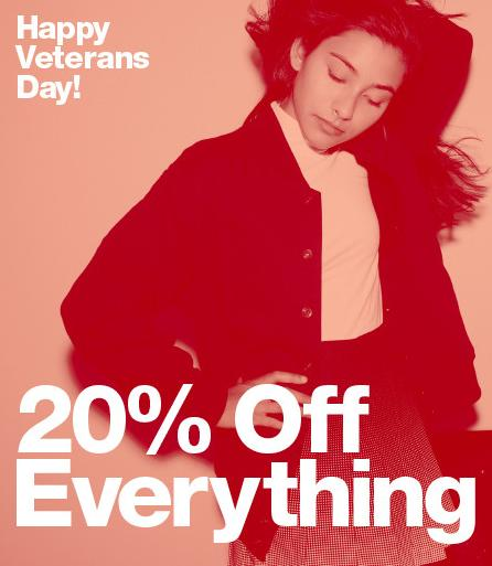20% Off Everything at American Apparel
