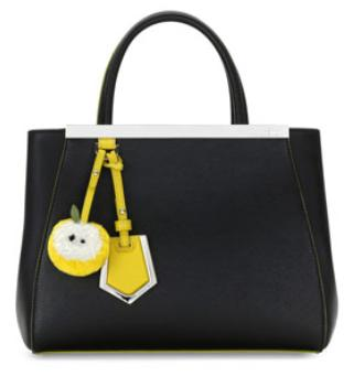 Dealmoon Exclusive!!11% Off Fendi 2Jours Petite Leather Tote Bag @ Bergdorf Goodman