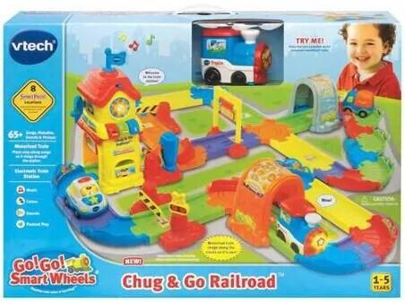 Go! Go! Smart Wheels Chug & Go Railroad