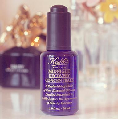 20% Off+3 Free Samples Midnight Recovery Concentrate @ Kiehl's