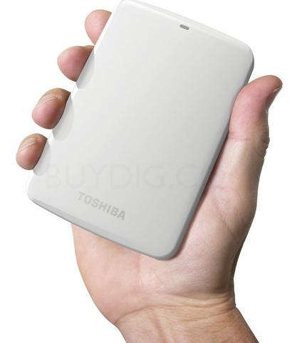 Toshiba Canvio Connect 2TB Portable Hard Drive, HDTC720XW3C1