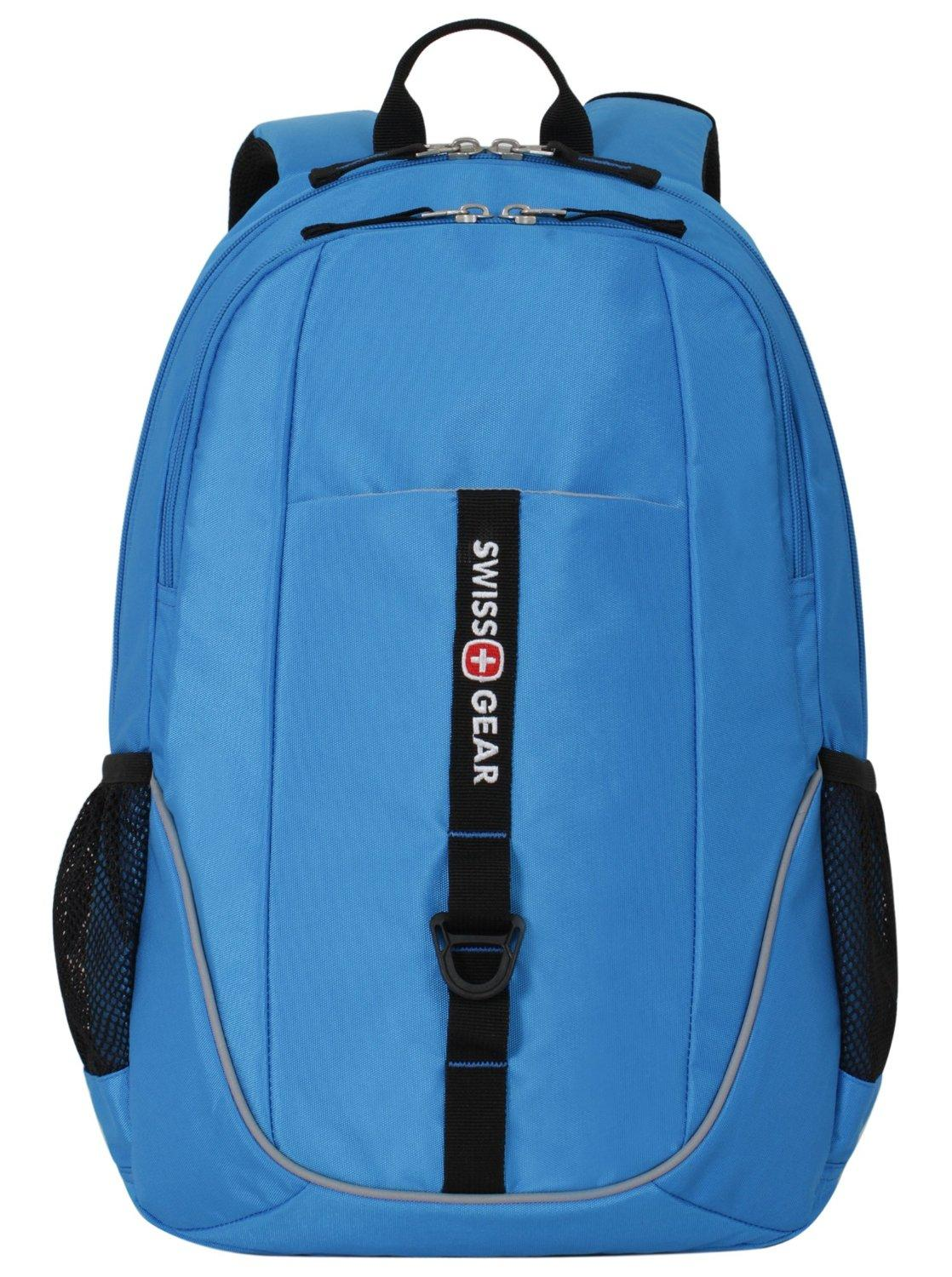 SwissGear Laptop Computer Backpack SA6639 (Neon Blue) Fits Most 15 Inch Laptops