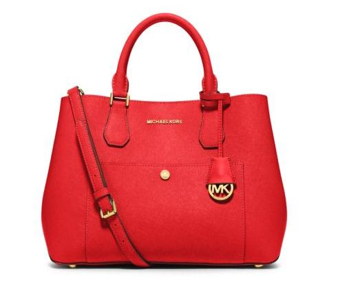 MICHAEL MICHAEL KORS  Greenwich Large Saffiano Leather Tote