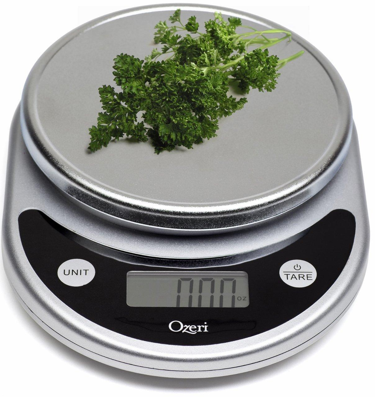 $12.14 Ozeri Pronto Digital Multifunction Kitchen and Food Scale