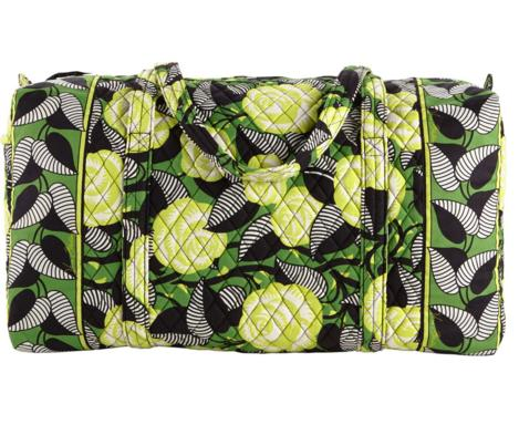 Vera Bradley Large Duffel Travel Bag @ eBay