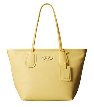 COACH Crossgrain Leather Coach Taxi Zip Tote On Sale @ 6PM.com