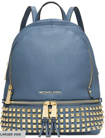 MICHAEL Michael Kors Rhea Studded Backpack @ macys.com