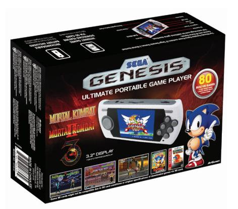 $24.92 Sega Genesis Ultimate Portable Game Player