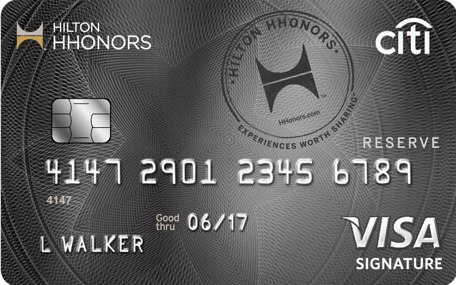 Earn 2 weekend night certificates after required spend Citi® Hilton HHonors™ Reserve Card