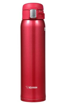 29.48 Zojirushi SM-SA60-RW Stainless Steel Mug, 20-Ounce, Clear Red