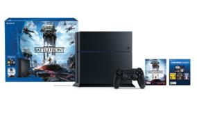 $349.99 PlayStation 4 STAR WARS Battlefront 500GB Bundle