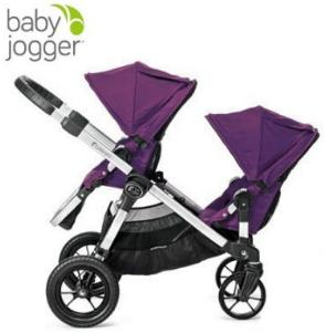 Baby Jogger City Select Stroller In Amethyst, Silver Frame @ Amazon