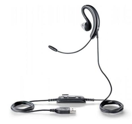 Jabra UC Voice 250 MS USB Wired Single-Ear Headset