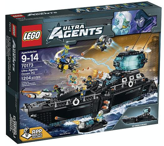 30% Off All LEGO Ultra Agents constructions Sets @ ToysRUs