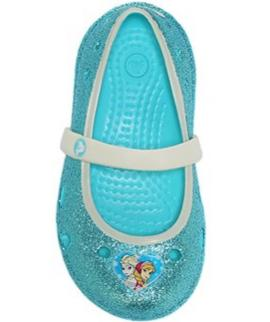 Crocs Kids' Keeley Frozen Mary Jane Flat Toddler/Preschool