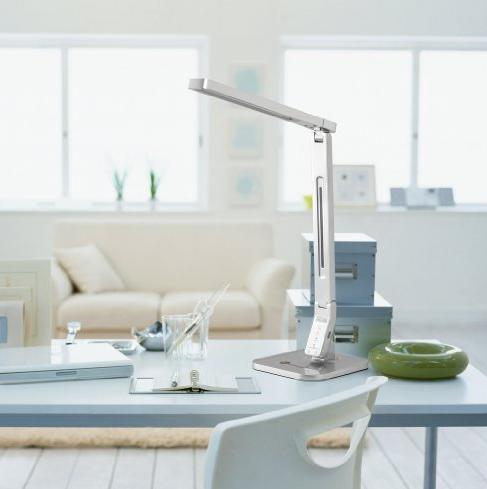 $39.99 TaoTronics TT-DL01 Dimmable LED Desk Lamp, 4 Lighting Modes 5-Level Dimmer, Touch-Sensitive Control Panel, 1-Hour Auto Time