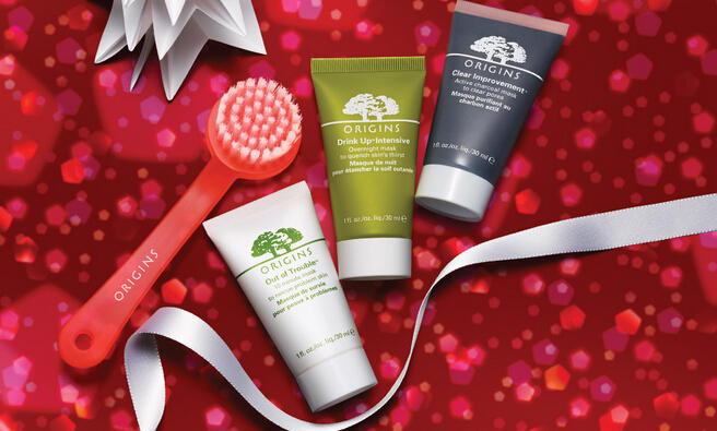 Buy More Get More with Orders over $65 @ Origins