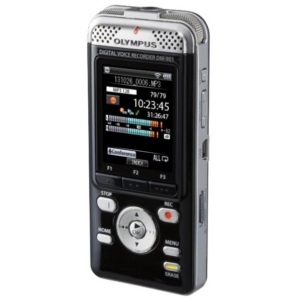 Lowest price! Olympus DM-901 Voice Recorders with 4 GB Built-In-Memory