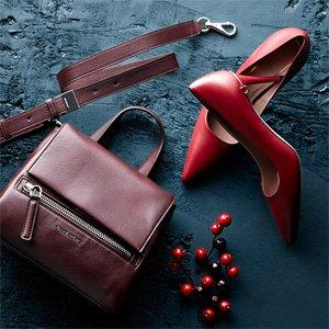 Up to 60% Off Givenchy & More: Luxe Extras in Burgundy Hues On Sale @ Rue La La