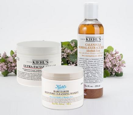 Free 6 Deluxe Samples With 3 Most Popular Items Purchase @ Kiehl's