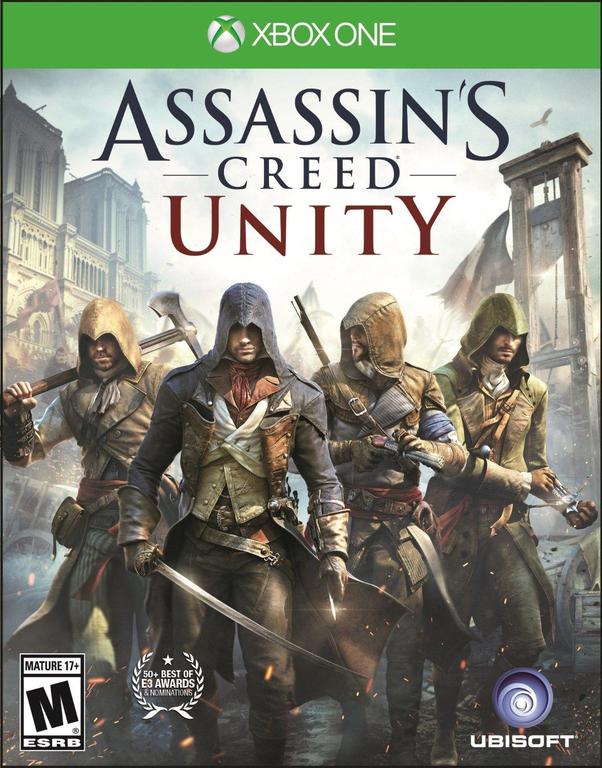 Free Assassin's Creed Unity Xbox One